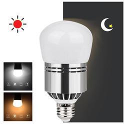 Litwod Z20 светодиодный светильник E27 110 V-220 V 12 W pure датчик контроля освещенности лампочки Мощность индукции шарика теплый белый и белый свет