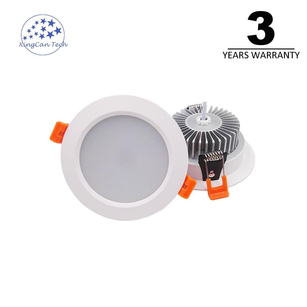 4 P высокое качество AC85V-265V светодиодный потолочный светильник Встраиваемые Кабинет Настенные светильники 3 года гарантии Теплый Природа хо...