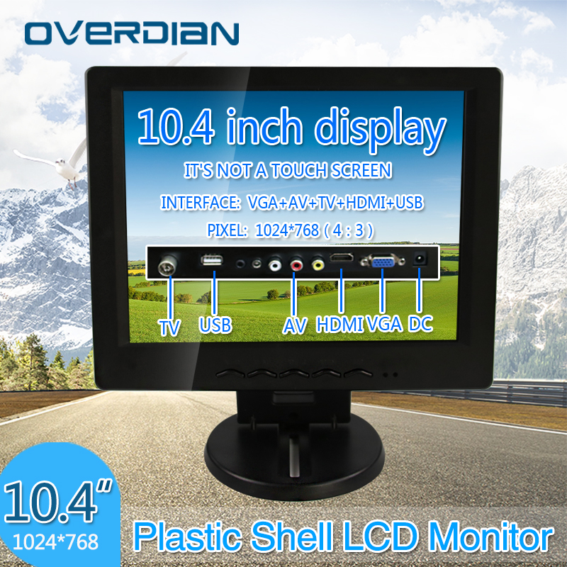 Display 10.4 VGA/HDMI/TV/AV/USB Connector Monitor 1024*768 Song Machine Cash Register Lcd Monitor/Display Non-touch ScreenDisplay 10.4 VGA/HDMI/TV/AV/USB Connector Monitor 1024*768 Song Machine Cash Register Lcd Monitor/Display Non-touch Screen