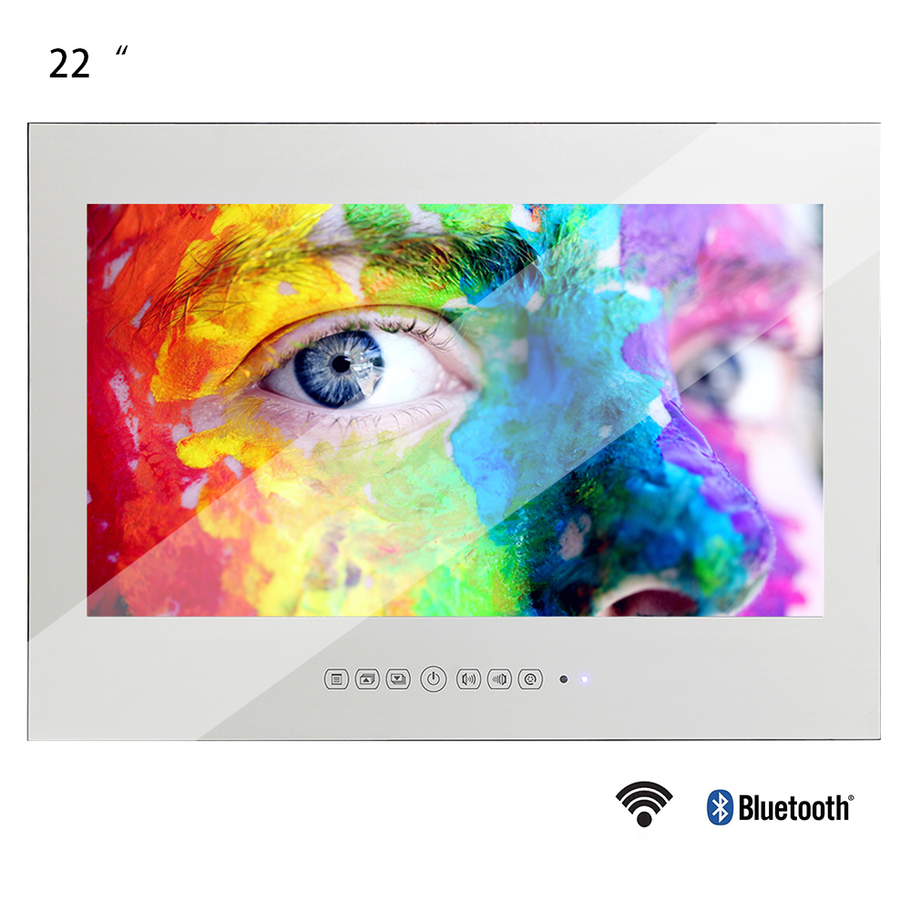"Souria 22"" Smart Android Waterproof Bathroom Magic Mirror LED TV Sauna Indoor Home Use LED TV(China)"