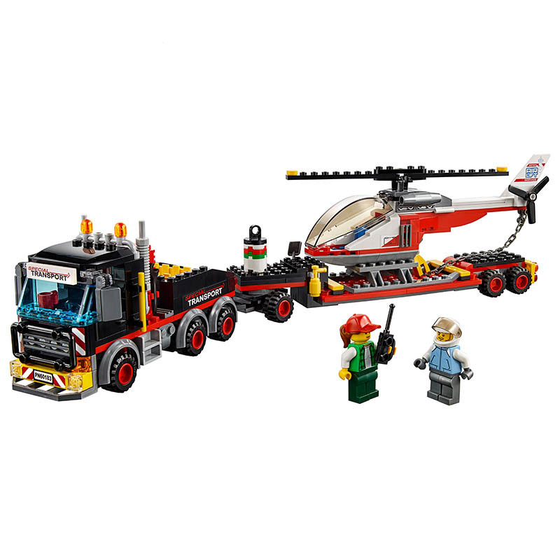LEPIN City Heavy Cargo Transport Building Blocks Sets Bricks Classic Model Kids Toys For Children Technic Gift Compatible Legoe waz compatible legoe city lepin 2017 02022 1080pcs city 50th anniversary town figure building blocks bricks toys for children