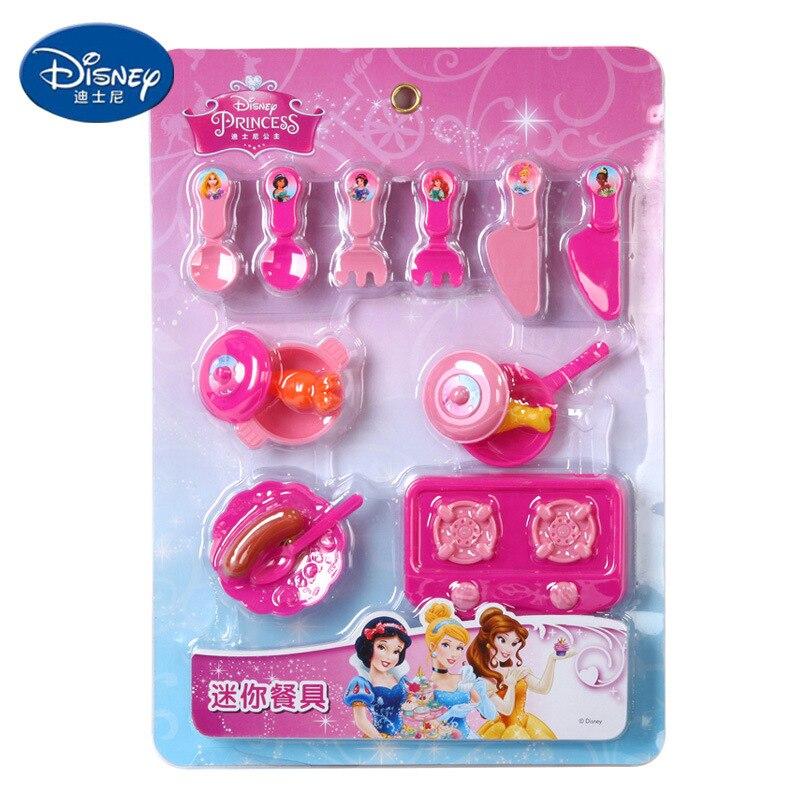Disney pretend play kitchen toys Princess tableware ...