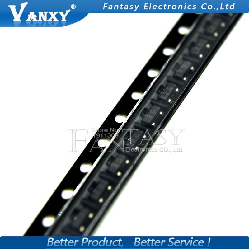 100PCS MMBTA92 SOT23 A92 SOT MMBTA92LT1G SMD 2D SOT-23 New Transistor