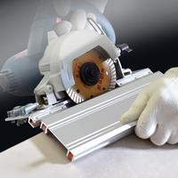 Tiling 45 Degree Angle Cutting Helper Tool, Tiles Exposed Outside Corner Construction Tool