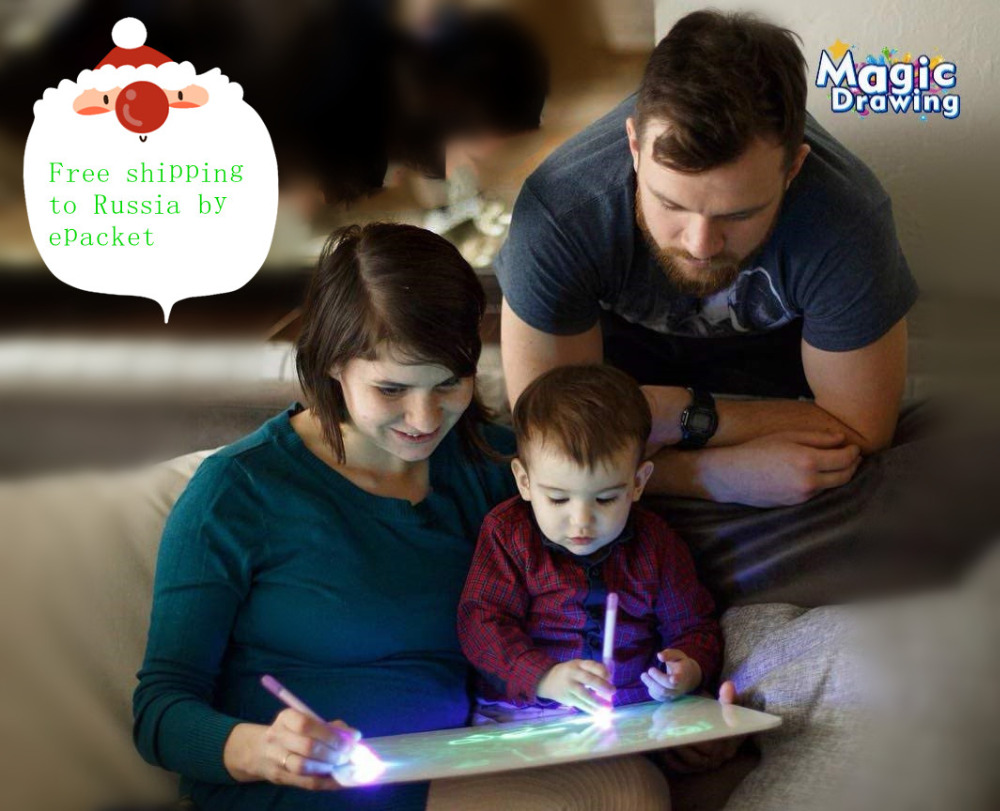 Invisible Disappearing Ink Pen Glow In The Dark Kids Magic
