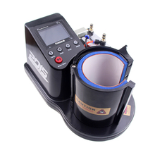 Free shipping by DHL 2016 Mini Pneumatic Vertical Multi-function Heat Transfer Press Thermal Printing Mug Cup Machine ST110
