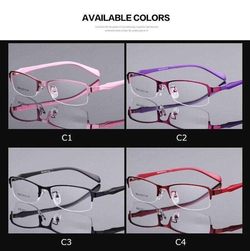 Bellcaca óculos armação de óculos mulher computador