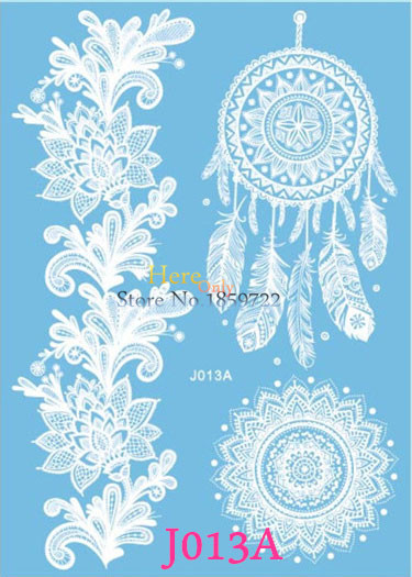 Buy 1pc popular large henna white ink for White henna tattoo ink