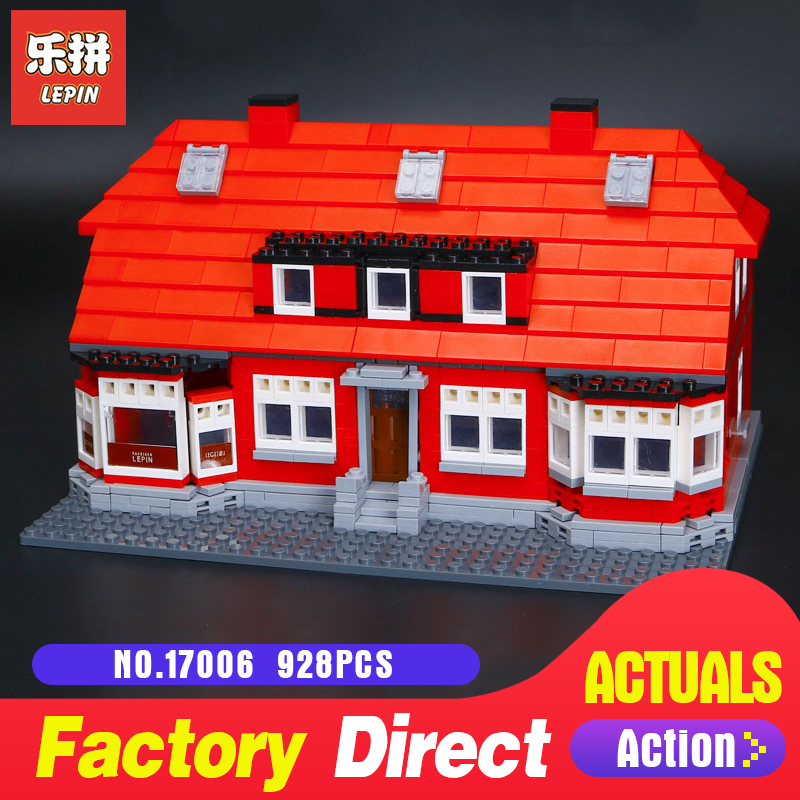 928Pcs Lepin 17006 ole lirk's house Building Blocks Bricks Toys For Children Holiday gifts Compatible model 4000007 lepin creator home 17006 928pcs the red house set model 4000007 building kits blocks bricks educational toys for children gifts