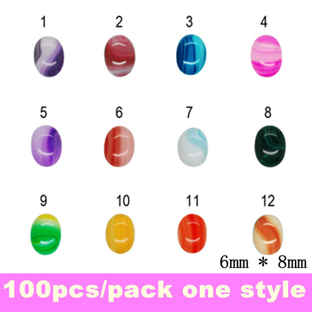 2013 New Arrival Jade Nail Decoration, 12 Different Designs, Szie 6*8mm +  Free Shipping