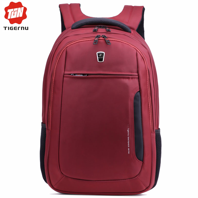 ФОТО 2017 Tigernu Men Women 15.6 Inch Laptop Backpack mochilas Bag for Notebook Computer Bag Backpack School Bags for Teenagers