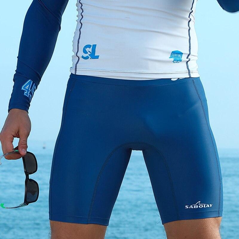 Calções de Surf Shorts da Praia de Natação Esportes ao ar Equipamento de Mergulho Livre Respirável E-secagem Rápida Anti-uv