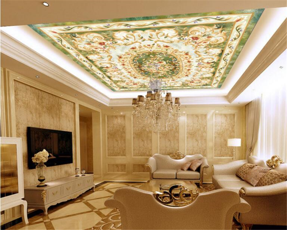 Online get cheap ceiling tiles 3d aliexpress alibaba group beibehang personalized fashion wallpaper tiles parquet marble background wall european ceiling 3d flooring painting papier peint dailygadgetfo Choice Image