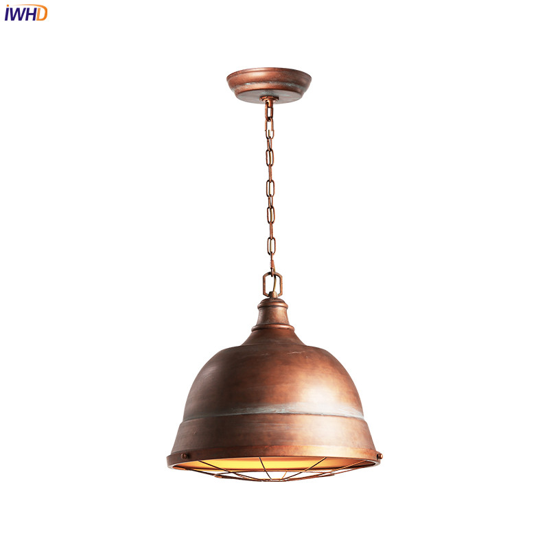 IWHD Loft Style American LED Pendant Lights Restaurant Living Room Iron LED Edison Vintage Lamp Industrial Lighitng FixturesIWHD Loft Style American LED Pendant Lights Restaurant Living Room Iron LED Edison Vintage Lamp Industrial Lighitng Fixtures