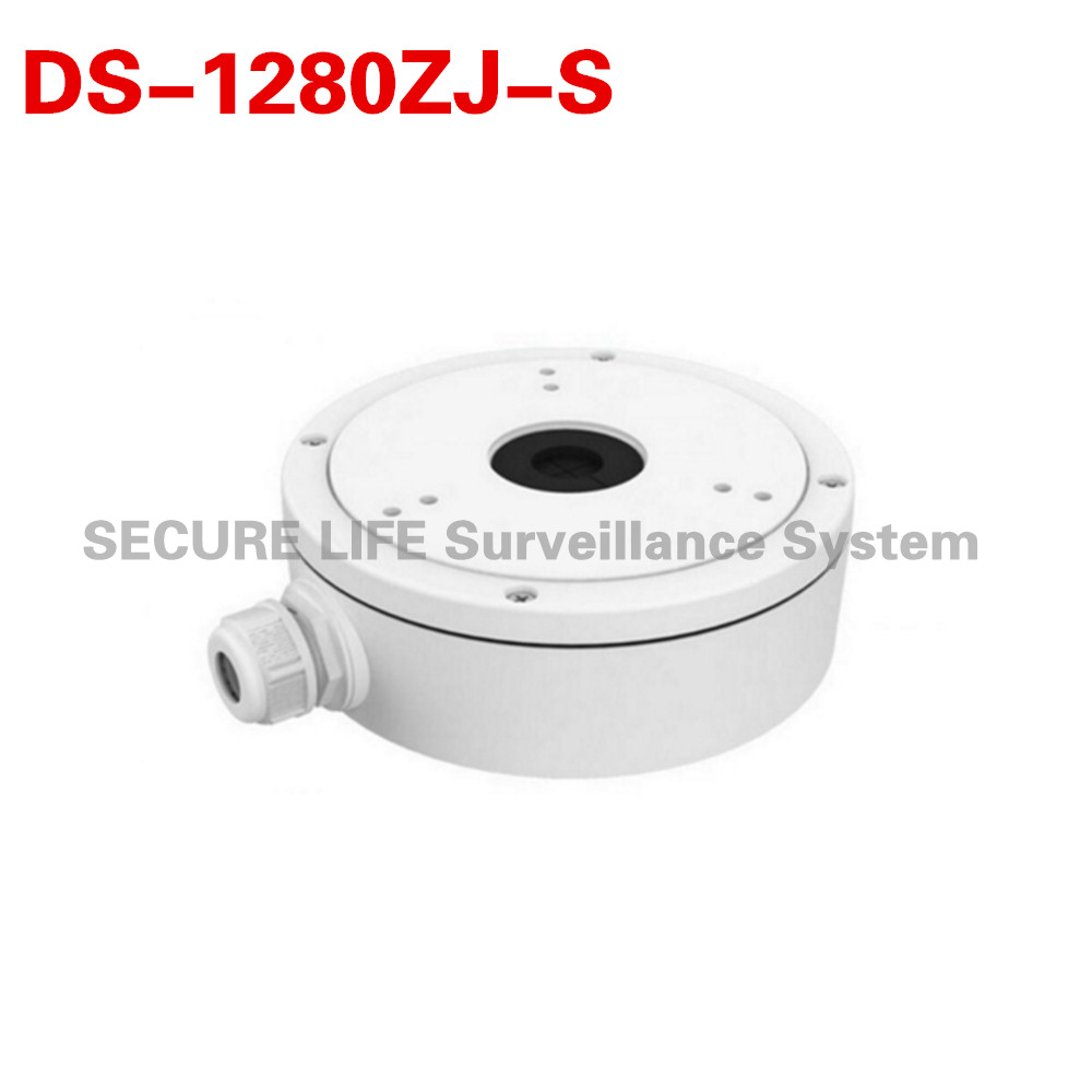 DS-1280ZJ-S cctv camera juction box for bullet camera DS-2CD2T42WD-I5/I8 DS-2CD2642FWD-IZS