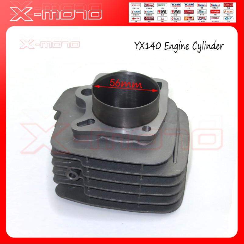 Двигатель YX140, диаметр цилиндра 56 мм, подходит для YX 140cc Pitster SSR YCF IMR Dirt Pit Bike