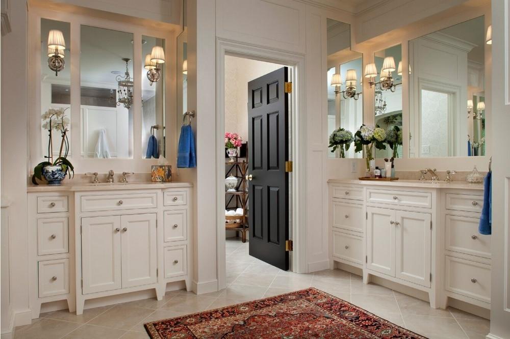 2017 New Sharke Style Highly Durable  Square Profiles Solid Wood Door Paint Grade Interior Wood Door Closet Doors ID1606011