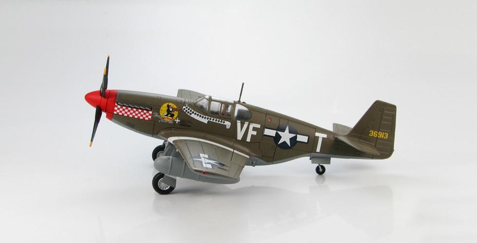 Scale Model 1/48 HA8501 WWII US P51B fighter model Shangri-La Colonel Tangjintaier Favorites Model