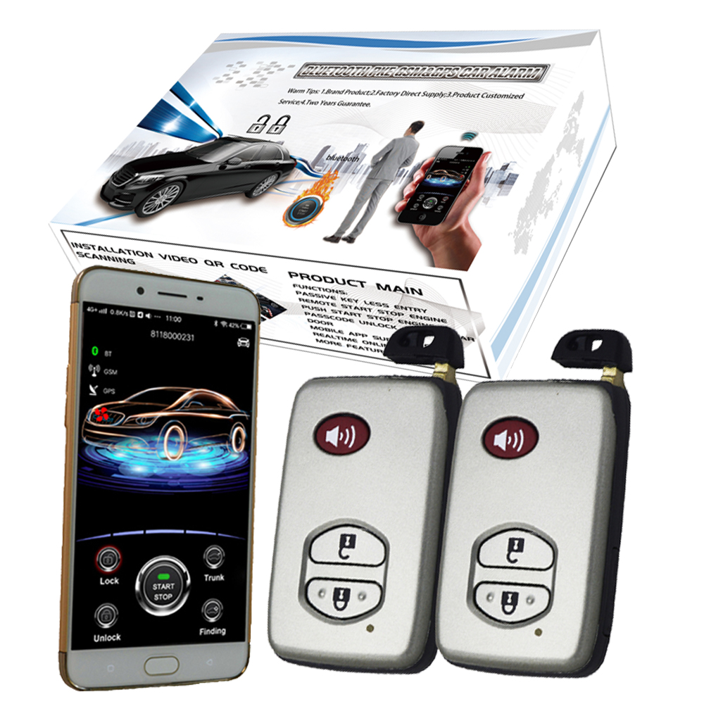 automotive gsm car intelligent alarm system car online real tracking gps system mobile sms control car central lock cardot brand