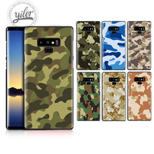 Camouflage for Case Samsung Galaxy Note 9 8 A7 2018 A50 A750 Black Note9