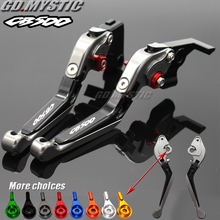 Мотоциклы Алюминий регулируемый тормозной рычаг сцепления для Honda CB500 CB 500 1998-2003 1999 2000 2001 2002 Тормозной рычаг мотоцикла