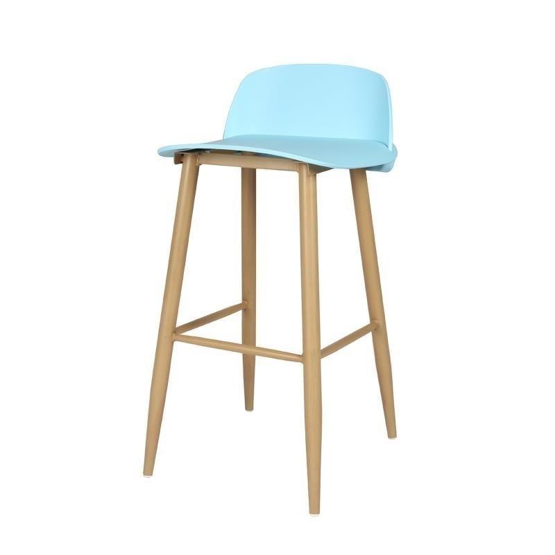 Furniture Ikayaa Bancos Moderno Banqueta Sandalyeler Sedia Barkrukken Hokery Sgabello Leather Cadeira Silla Tabouret De Moderne Bar Chair Refreshment