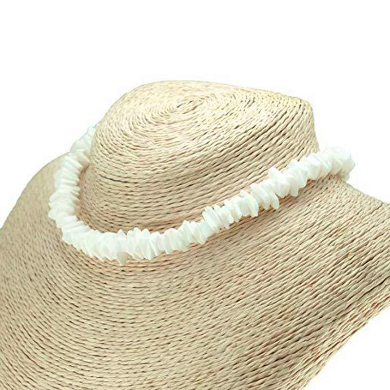 Hawaii Puka blanco Clam Chips Shell collar Chips irregulares naturales Seashell gargantilla collar moda verano playa joyería