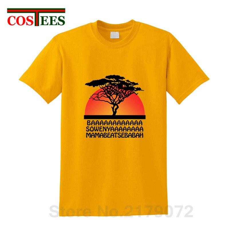 Vintage rétro design t-shirts Hakuna Matata t-shirts hommes Lion roi Simba T-shirt décontracté casual hollywood T-shirt enfants dessin animé T-shirt