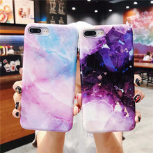 Fashion Star Gravel For Iphone 6 6s 7 8P X Xs Xr Max Marble Drop Mobile Shell