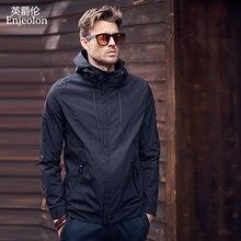 Enjeolon 2020 Autumn Winter Bomber Jacket Men Windbreaker Mens Jackets Coats Streetwear Cotton Padded Jacket Men Clothes JK0324