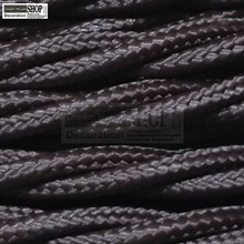 100 м/roll 3*0.75 мм провода ядер черный витой Шелковый плетеный Винтаж Ткань цветные Освещение кабель 3 core 0.75 мм
