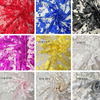 1 Yard Embroidered Fabric Organza Flowers Sewing Lace Fabric For Wedding Dress High Quality Lace Accessories