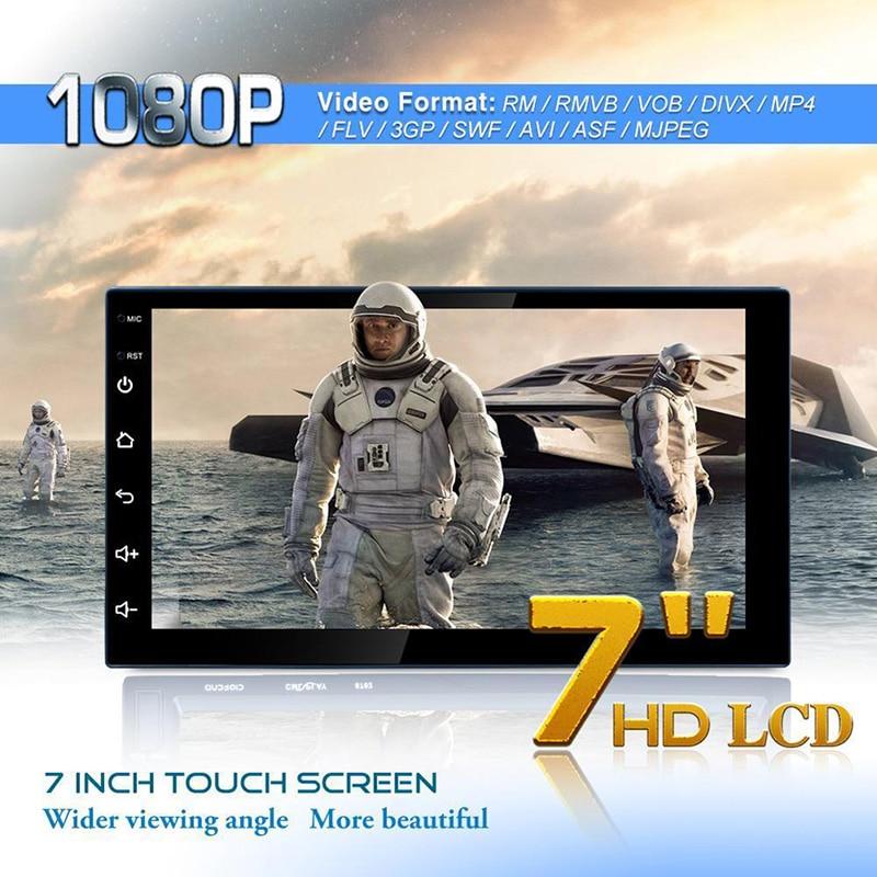 Lecteur MP3 7 pouces HD Bluetooth lecteur multimédia Mp5 mémoire 16G Navigation GPS universelle lecteur WIFI Machine de Navigation