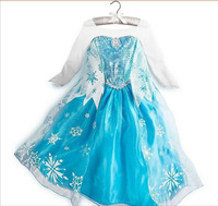 China Wholesale Elsa Costumes For Girls Kids Party Dress For Children