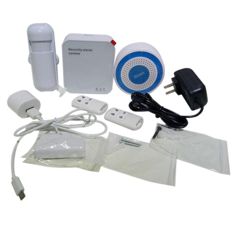 PN-601 Senza Fili Wifi Sistema di Allarme Intelligente Pratico Casa Coperta di Sicurezza Esterna di Sicurezza del Sensore del Rivelatore di Sistema di AllarmePN-601 Senza Fili Wifi Sistema di Allarme Intelligente Pratico Casa Coperta di Sicurezza Esterna di Sicurezza del Sensore del Rivelatore di Sistema di Allarme