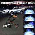 Интеллектуальную Динамическую траектории Спорт Камера Заднего Вида Парковка Для Renault Megane 3 III 2008 ~ 2015/Номерного знака OME