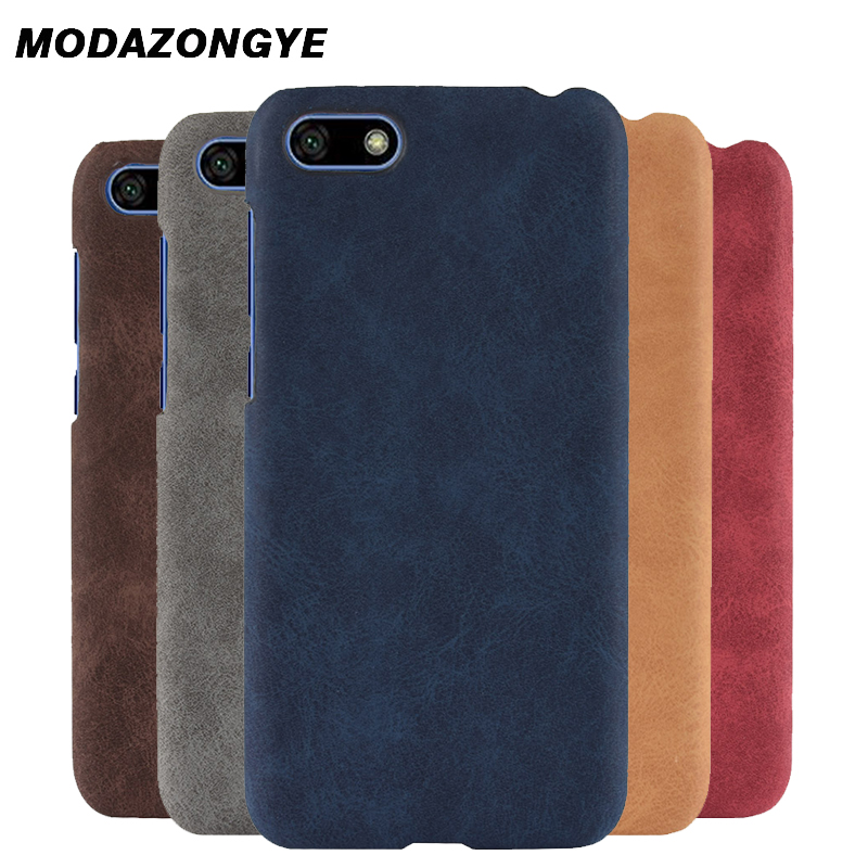 super popular 355d1 8ea50 US $2.59 35% OFF|For Huawei Y5 Prime 2018 Case Huawei Y5 2018 Case Back  Cover PU Leather Phone Case For Huawei Y5Prime 2018 Y 5 2018 DRA L22  Case-in ...