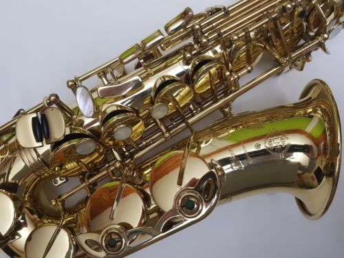 Série III Alto Saxophone E Plat Sax Super Action 80 Série III-Professionnel niveau Modèle-Plein Pro Service