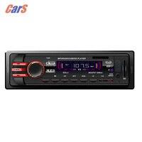 1 Din Araba Radyo 10 V-14 V Araba Dijital FM Araç Mp3 Player Araba Stereo Ses Müzik Çalar USB/SD/MMC Kart Okuyucu RC denetleyici