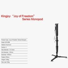 Kingjoy MP-3008  Three Sections Twist  Lock  Aluminum  skilled  Monopod with Three Legs Base for Digital camera Nikon Canon Sony DSLR DV