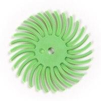 High Quality 25mm Diameter Aluminum Oxide Grain Polishing Wheels Multicolor Granularity 80#-2500# Polishing Radial Disc