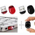 Capacidad Real rojo Negro super Mini Tiny impermeable 4 GB 8 GB 16 GB 32 GB USB Flash drives de Memoria Pluma del palillo Del Pulgar/Del Coche/Pendrives