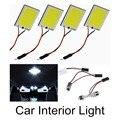 10 UNIDS 12 V 3 W 48 SMD Lámpara de La Bombilla Del Coche LED COB Car Panel luz Room Interior Dome lámparas más vendidos