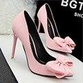 [328] zapato zapatos de mujer arco de La Manera con fina ultra-alto perfil de mujeres escoge los zapatos con boca baja zapatos de la princesa. PSDS-8195