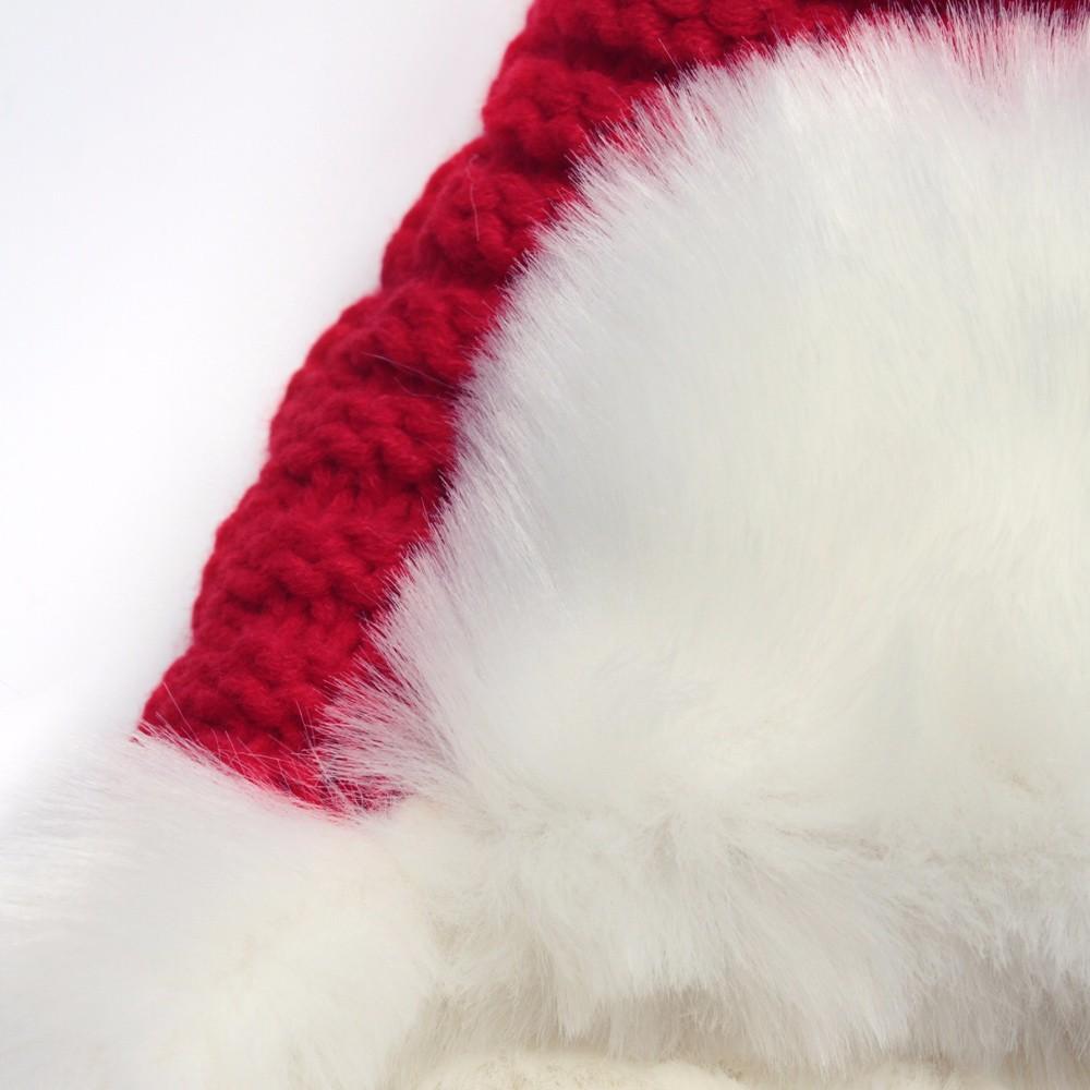 Woman Beanie Knitting Hat 2016 Happy Christmas Hats Bonnet Ladies Pompom Fur Snow Warm Skullies New Women\'s Winter Accessories (7)