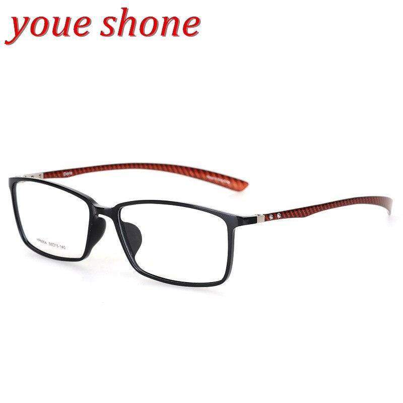 8e6171af8 Youe brilhou Marca De Fibra De Carbono Quadro Quadros armacao oculos de  grau Óculos de Qualidade