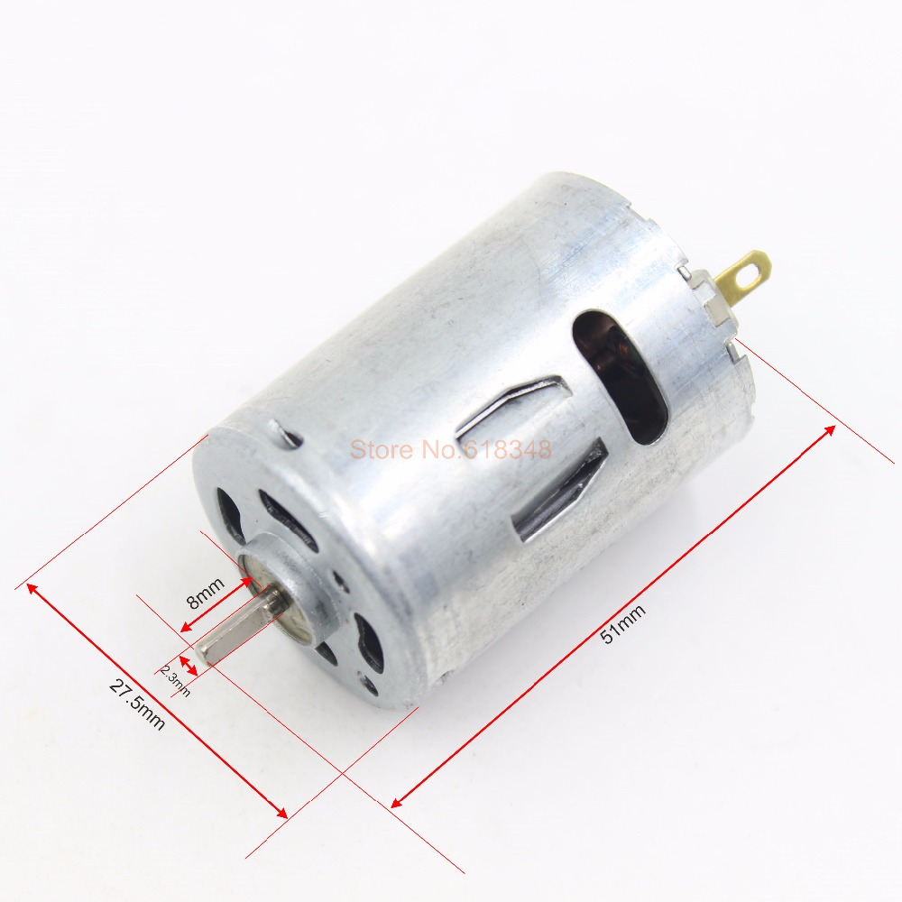 Rs 380ph Hobby Electric Motor 7 2v Dc Great For R C Boat