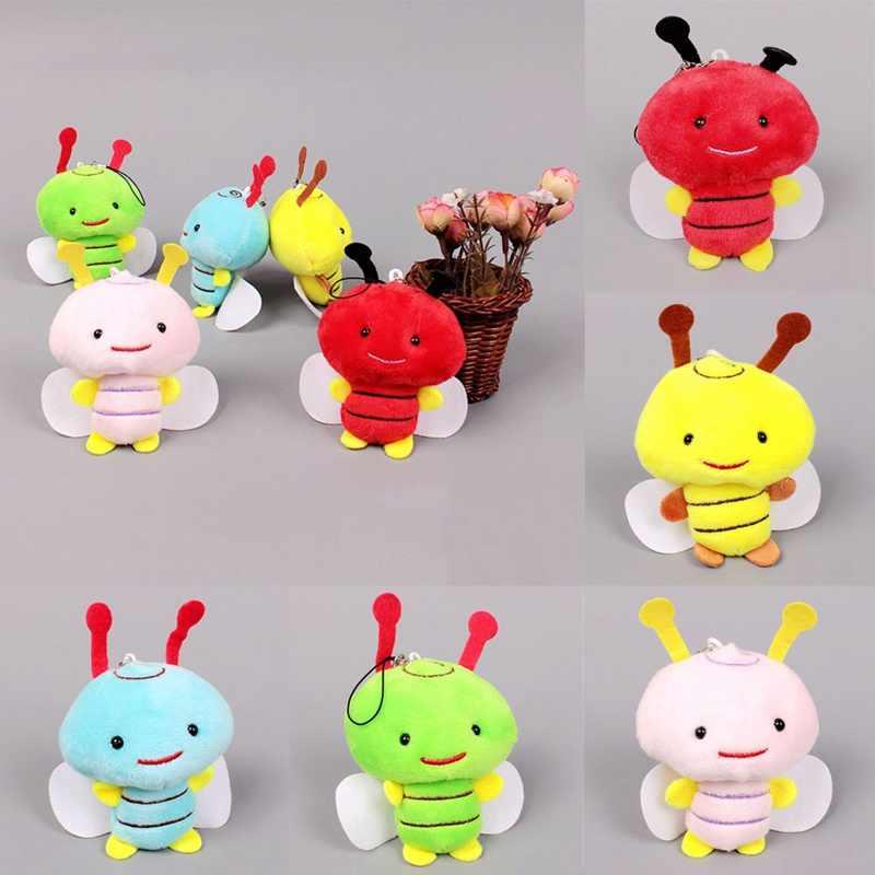 1 ชิ้น 8 เซนติเมตรตุ๊กตาของเล่นน้ำผึ้ง Bee Plush ของเล่นของขวัญสัตว์ Bee ตุ๊กตาของเล่นสำหรับเด็กของขวัญ