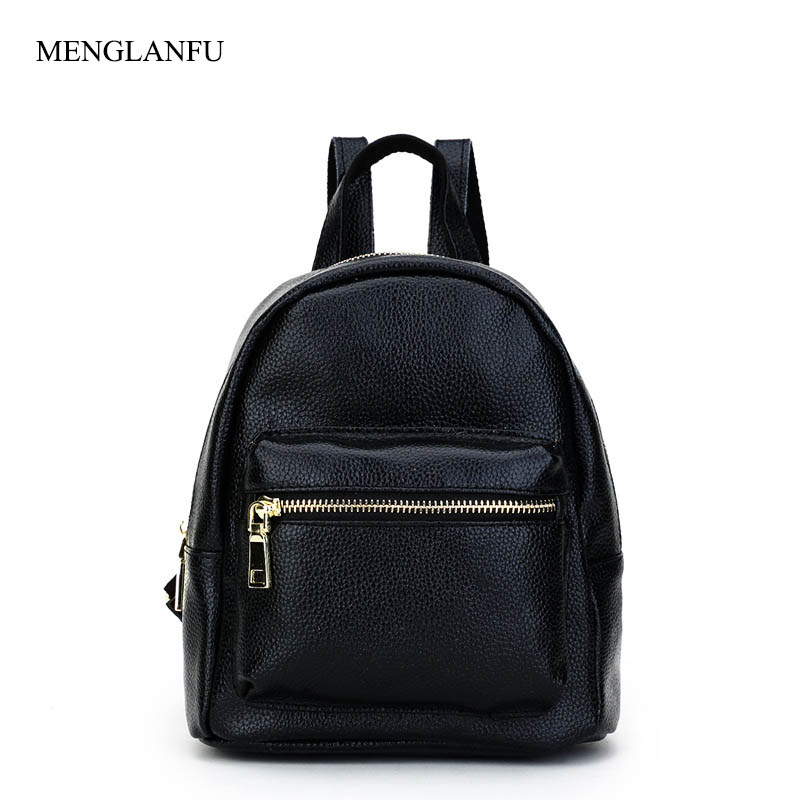 Genuine Leather Backpack Women Small travel bags 2018 Female Casual School Bag Zipper Backpack For Teenagers Student Black bag hot sale women s backpack the oil wax of cowhide leather backpack women casual gentlewoman small bags genuine leather school bag