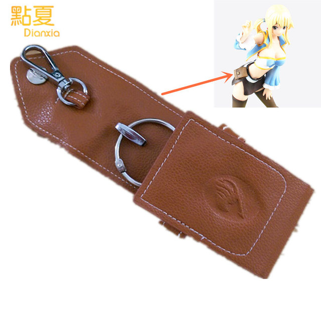 Fairy Tail Natsu Lucy Key Bag Collection PU Toys